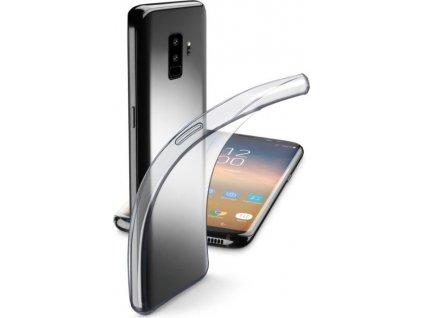 Extratenký zadní kryt CellularLine Fine pro Samsung Galaxy S9, bezbarvý
