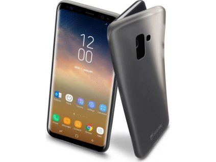 Ochranný zadní kryt Cellularline INK pro Samsung Galaxy S9 Plus, černý