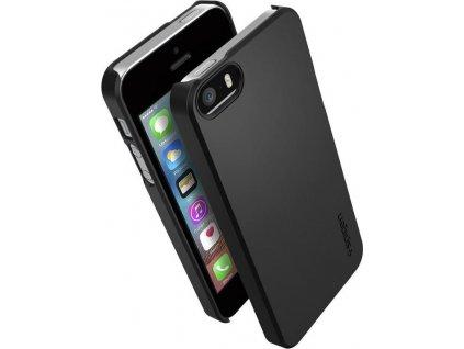 Spigen Thin Fit, black - iPhone SE 2016/5s/5