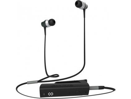Bluetooth adaptér CELLY BT DONGLE se sluchátky, 3,5 mm jack, černá