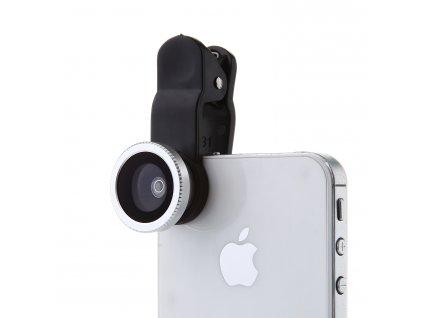Externí objektiv 3v1 universal clip lens - univerzální (6 variant) (Barva Zlatý)