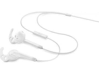 Voděodolná sportovní sluchátka s mikrofonem FIXED EGG3, IPX3, bílá