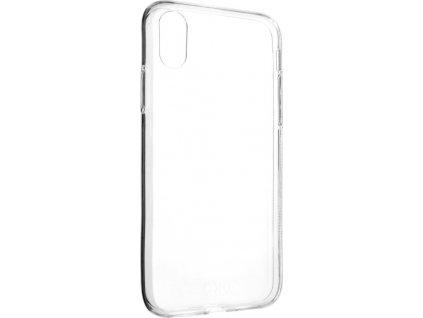 Ultratenké TPU gelové pouzdro FIXED Skin pro Apple iPhone X/XS, 0,6 mm, čiré