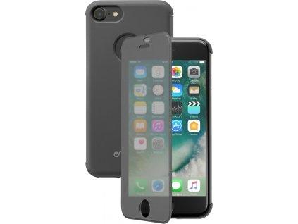 Pouzdro typu kniha Cellularline Touch s dotykovým čelním krytem pro Apple iPhone 7/8/SE (2020), černé