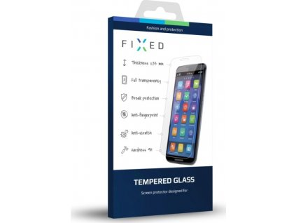 Ochranné tvrzené sklo FIXED pro Apple iPhone 6/6S/7/8/SE (2020), čiré