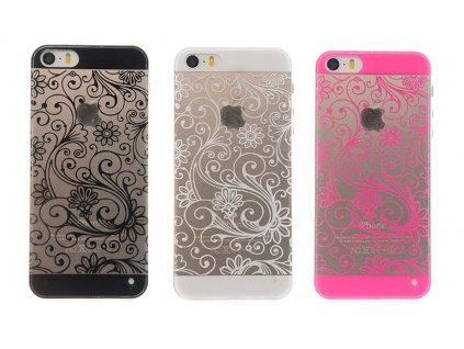 Kryt pro iPhone 6 / 6S - Flower (Barva Růžový)