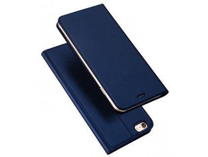 15570 5 pouzdro dux ducis skin pro iphone 5 5s se tmave modra