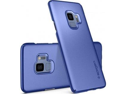 Spigen Thin Fit, coral blue - Galaxy S9