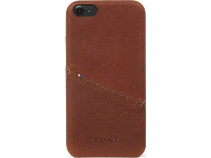 Decoded Leather Case, brown - iPhone SE/8/7/6s