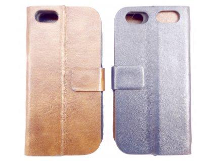 Pouzdro duo pro iPhone 5/5S/SE (Barva Černý/Tmavě modrý)