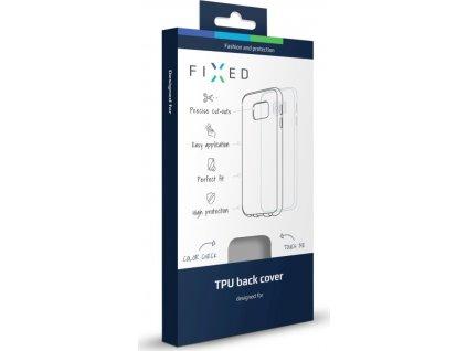 Kryt FIXED TPU gelové pouzdro pro Apple iPhone 7, matné