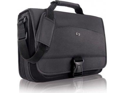 18807 5 solo conquer messenger bag black 15 6