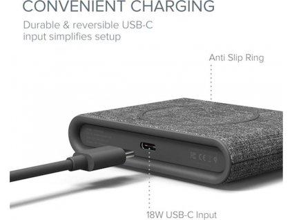 iOttie iON Wireless Pad Mini Ash, grey