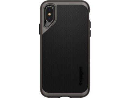 Spigen Neo Hybrid, gunmetal - iPhone XS/X