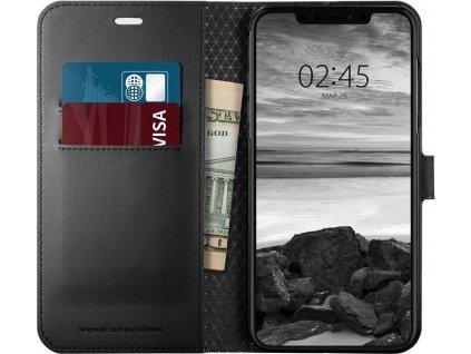 Spigen Wallet S, black - iPhone XS Max