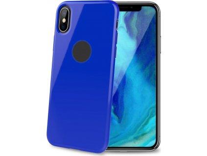 TPU pouzdro CELLY Gelskin pro Apple iPhone XS Max, modré