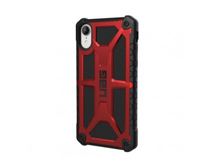 19700 uag monarch case crimson red iphone xr