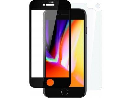 Set ochranných tvrzených skel FIXED pro přední a zadní stranu Apple iPhone 7 Plus/8 Plus, vesmírně šedý