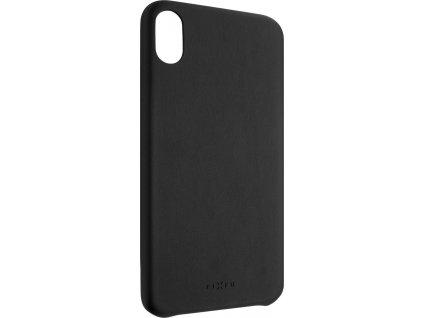 Zadní kryt FIXED Tale pro Apple iPhone XS Max, PU kůže, černý