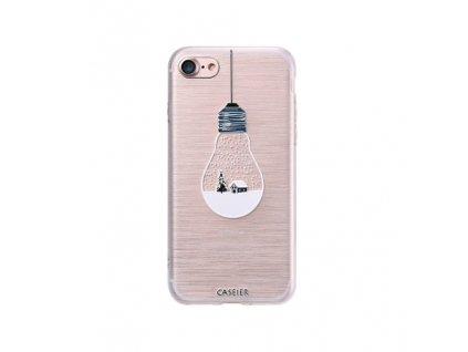 Kryt Caseier zimní - žárovka pro iPhone 6/6S