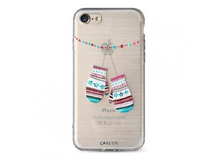 Kryt Caseier zimní - rukavičky pro iPhone 6/6S
