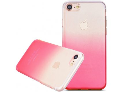 kryt kisscase iphone 7 a 8 gradient ruzovy