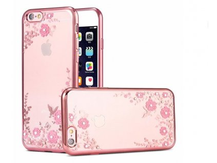 20411 kryt kisscase crystal flower pro iphone x xs rose