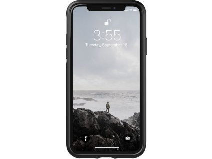 Nomad Rugged Leather case, black - iPhone XS/X
