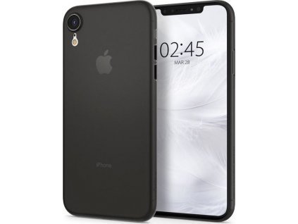Spigen Air Skin, black - iPhone XR