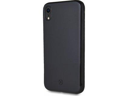 Zadní magnetický TPU kryt CELLY GHOSTSKIN pro Apple iPhone XR, kompatibilní s GHOST držáky, černý