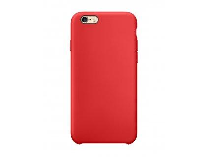 21089 originalni silikonovy kryt clearo pro iphone 6 6s cerveny
