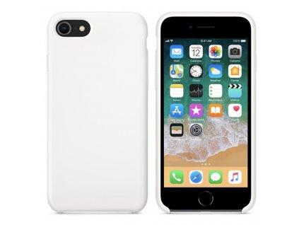 Originální silikonový kryt Clearo pro iPhone 6/6S, bílý