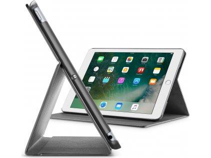 "Pouzdro se stojánkem CellularLine FOLIO pro Apple iPad 9,7"" (2018)/iPad 9.7"" (2017)/iPad Air, černé"