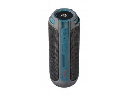 Bezdrátový voděodolný reproduktor CellularLine Twister, 360° zvuk 20 W, AQL® certifikace, černý