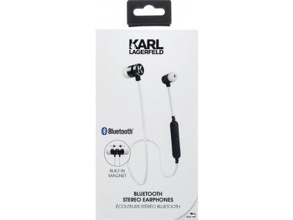 CGBTE07 Karl Lagerfeld Bluetooth Stereo Headset White (EU Blister)
