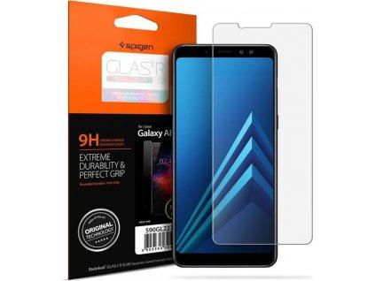 Spigen Glas.tR SLIM HD - Galaxy A8 2018