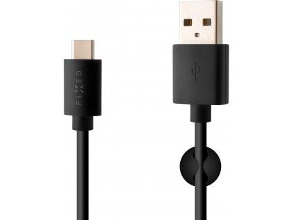 23732 dlouhy datovy a nabijeci kabel fixed s konektorem usb c usb 2 0 2 metry 3a cerny