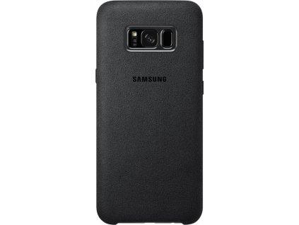 EF-XG955ASE Samsung Alcantara Cover Dark Grey pro G955 Galaxy S8 Plus (EU Blister)