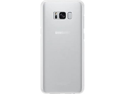 EF-QG955CSE Samsung Clear Cover Silver pro G955 Galaxy S8 Plus (Pošk. Blister)