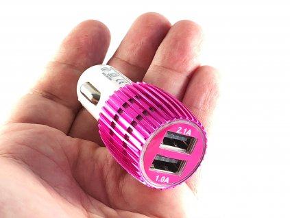 Auto adaptér NOKOKO 2x USB do zapalování 3.1A 4