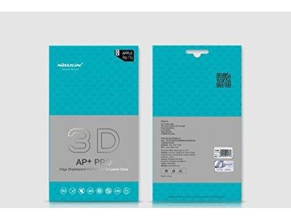 24890 nillkin tvrzene sklo 3d ap pro black pro iphone 7 8