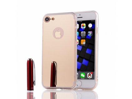 Luxusní kryt pro iPhone 7/8 - Mirrori (Barva Stříbrný)
