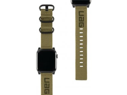 UAG Nato Strap, olive - Apple Watch 44/42 mm
