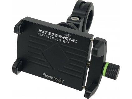 Univerzální držák Interphone CRAB Evo Alu s odolnou konstrukcí, úchyt na řídítka