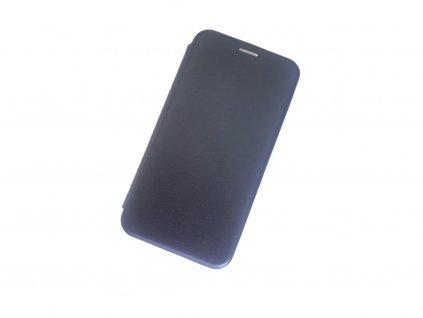 Magnetické pouzdro Clearo Flip pro iPhone XR - dark blue