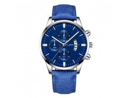 hodinky panske modre s modrym reminkem
