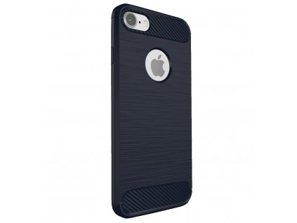 Kryt Clearo Carbon Armor, Blue - pro iPhone 5/5S/SE