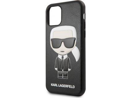 KLHCN61IKPUBK Karl Lagerfeld Embossed Kryt pro iPhone 11 Black (EU Blister)