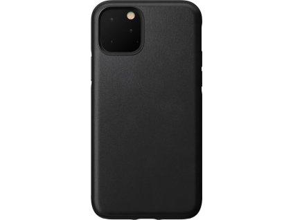 Nomad Rugged Leather case, black - iPhone 11 Pro