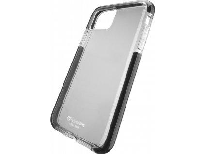 Ultra ochranné pouzdro Cellularline Tetra Force Shock-Twist pro Apple iPhone 11, 2 stupně ochrany, transparentní
